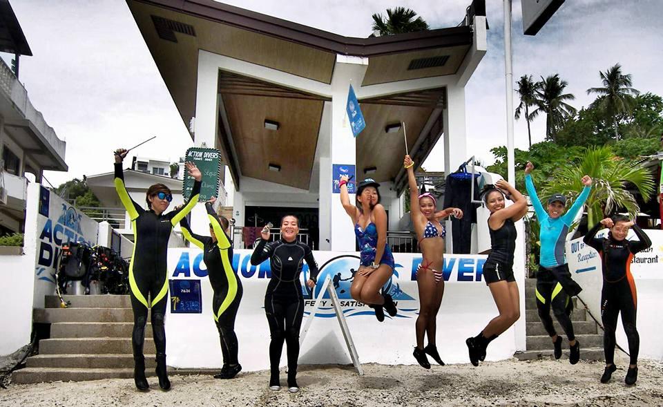 Women's Dive Day 2017 in Puerto Galera