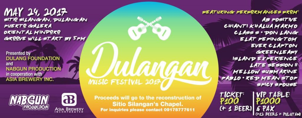 Join and Support Dulangan Music Festival 2017