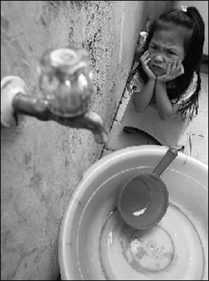 Krisis sa tubig, pahirap sa mahihirap